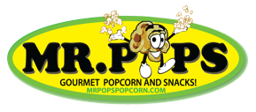 Mr. Pops Gourmet Popcorn and Snacks!